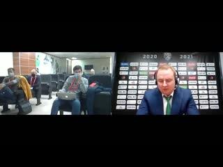 Итоги встречи «Салават Юлаев» (Уфа) – «Автомобилист» (Екатеринбург) подводят действующие лица!   Видео: ХК «Салават Юлаев»