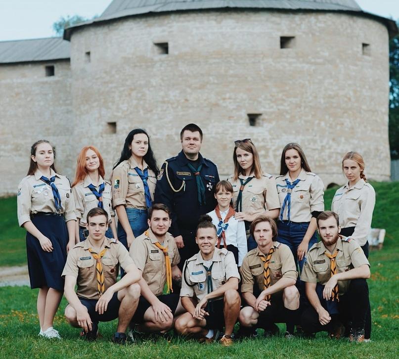 41 круг барона П.Н.Врангеля СЗО ОРЮР-Р принял участие в Никольских днях на Ладоге