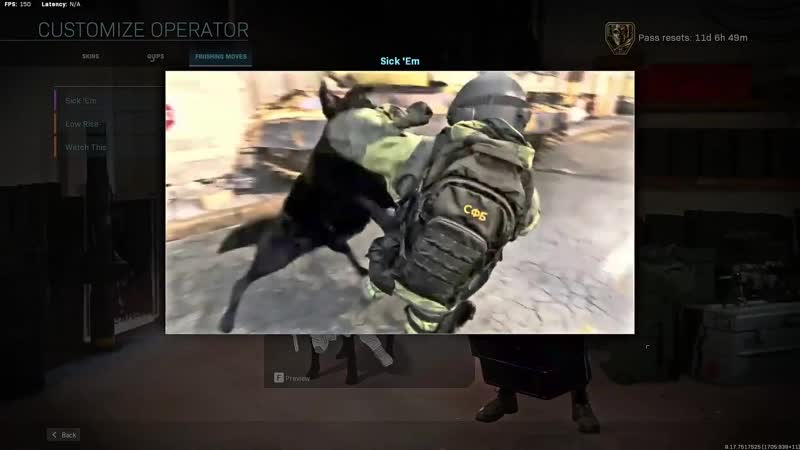 Talon execution Modern Warfare
