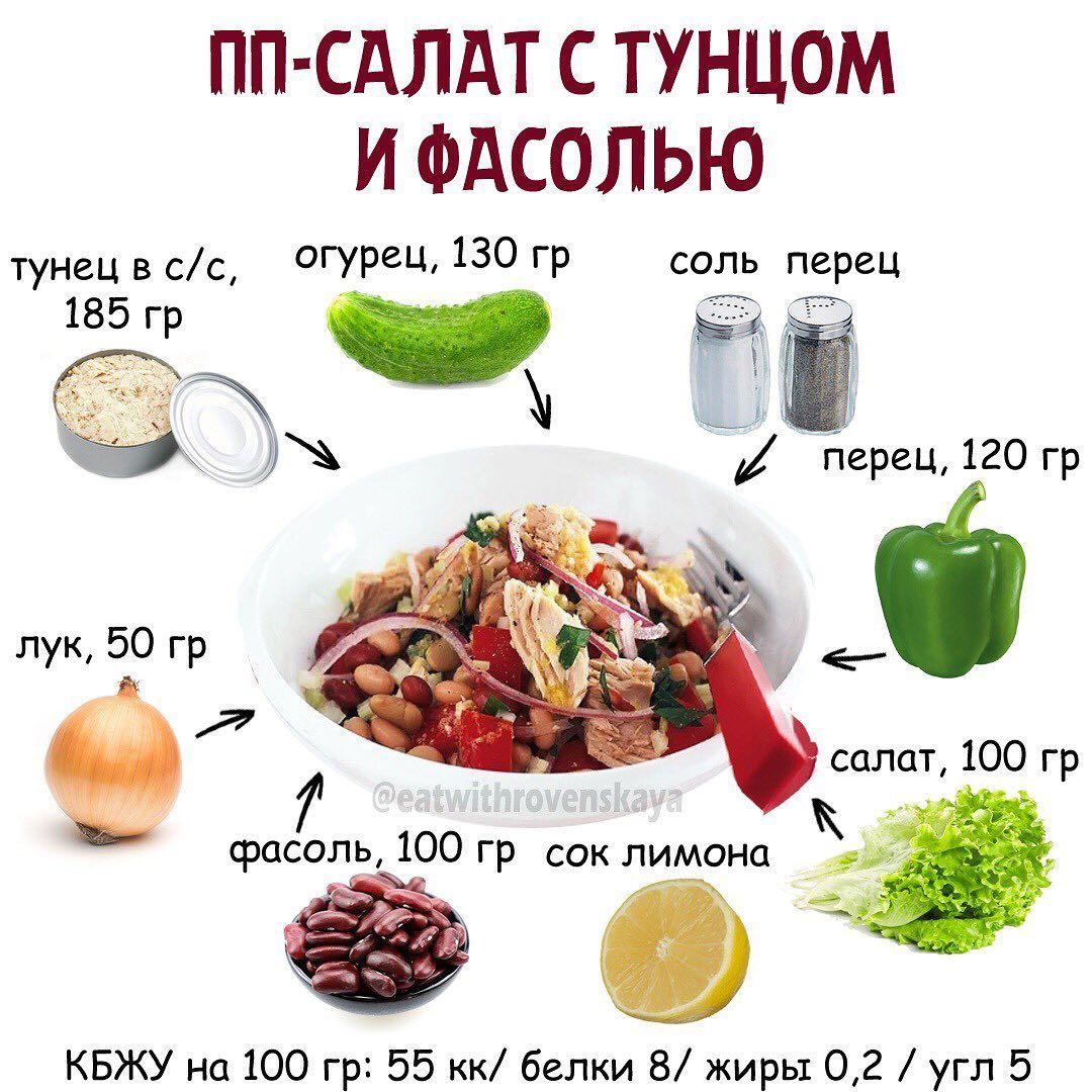 Подборка салатиков + пп майонез