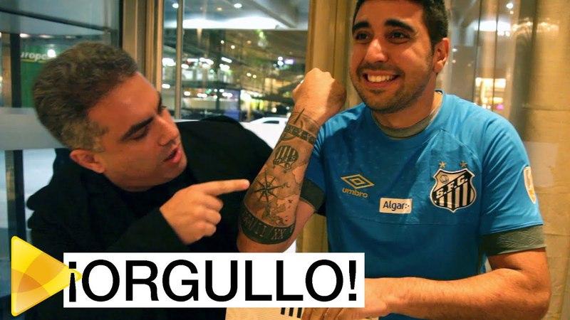 Conheça Fabricio, um uruguaio fanático pelo Santos FC