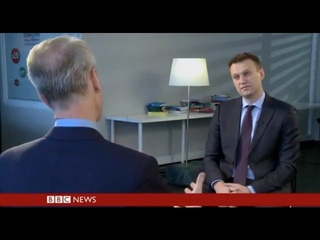 Alexey Navalny's interview for HARDtalk, BBC