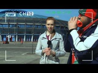 СТВ. Ролики к ЧМ по хоккею - 2014 в РБ. Журналист