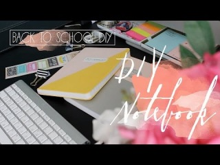 DIY Блокнот и GIVEAWAY??? / Back to school DIY Notebook and GIVEAWAY???   Beauty Blanc