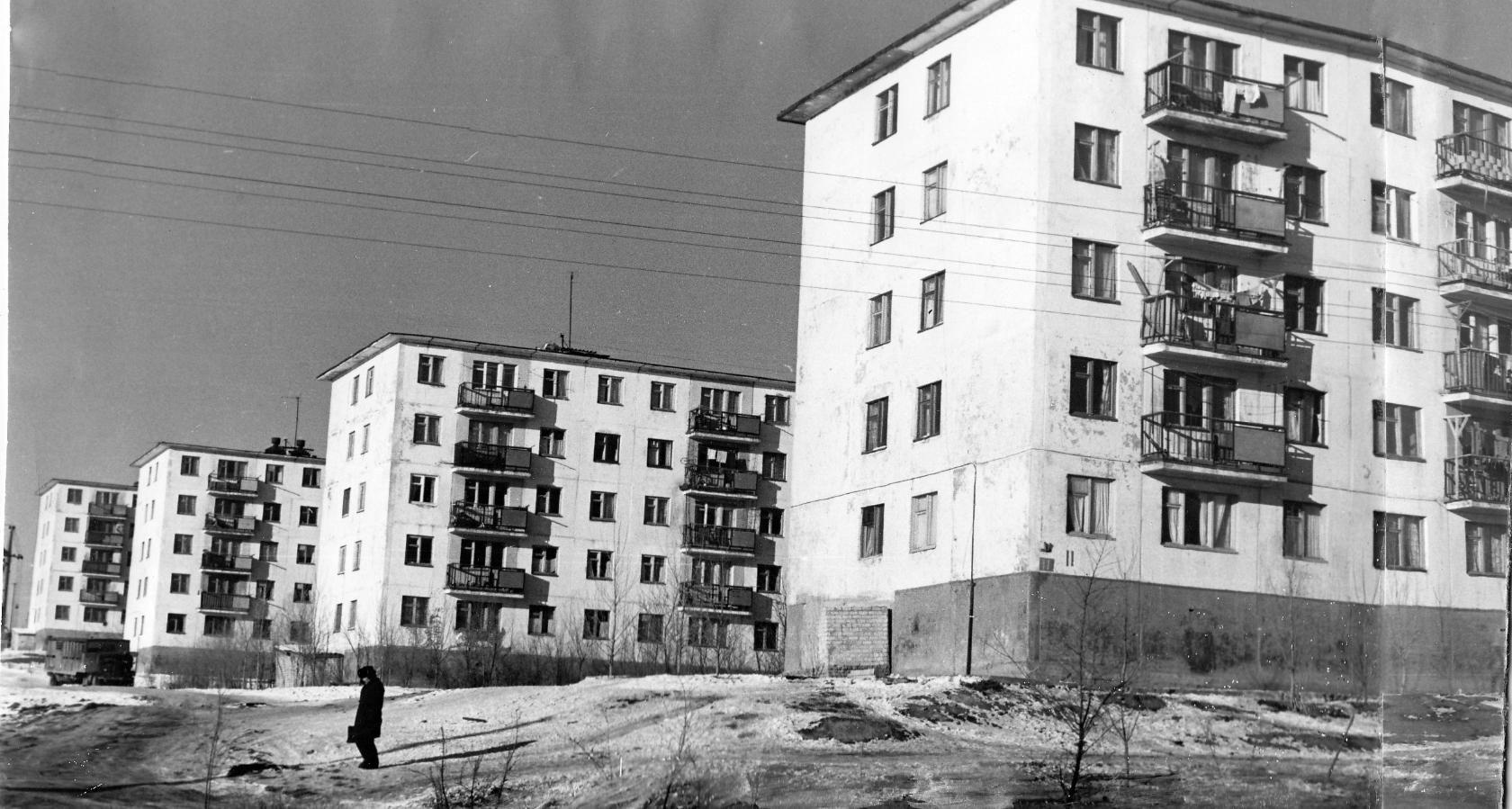 4 микрорайон. 1972 год. Калмыкия-online.ру