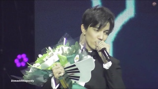 [Fancam] Dimash Димаш - Know Знай + Ending Speech   Russia Song of the Year 2019