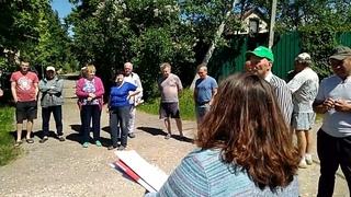 Народный Совет провел сход граждан Домодедовского района. Создан Совет деревни Матчино.