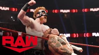 Ricochet vs. Sheamus: Raw, Aug. 9, 2021