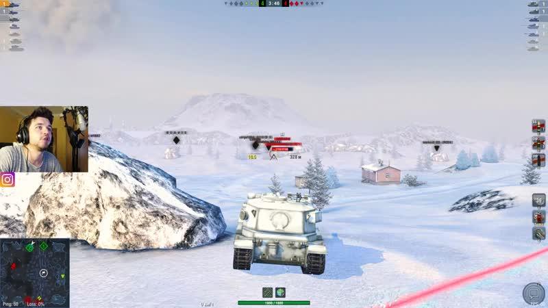 WoT Blitz Стоит ли потеть в Бабаху Правда о FV215b 183 World of Tanks Blitz WoTB