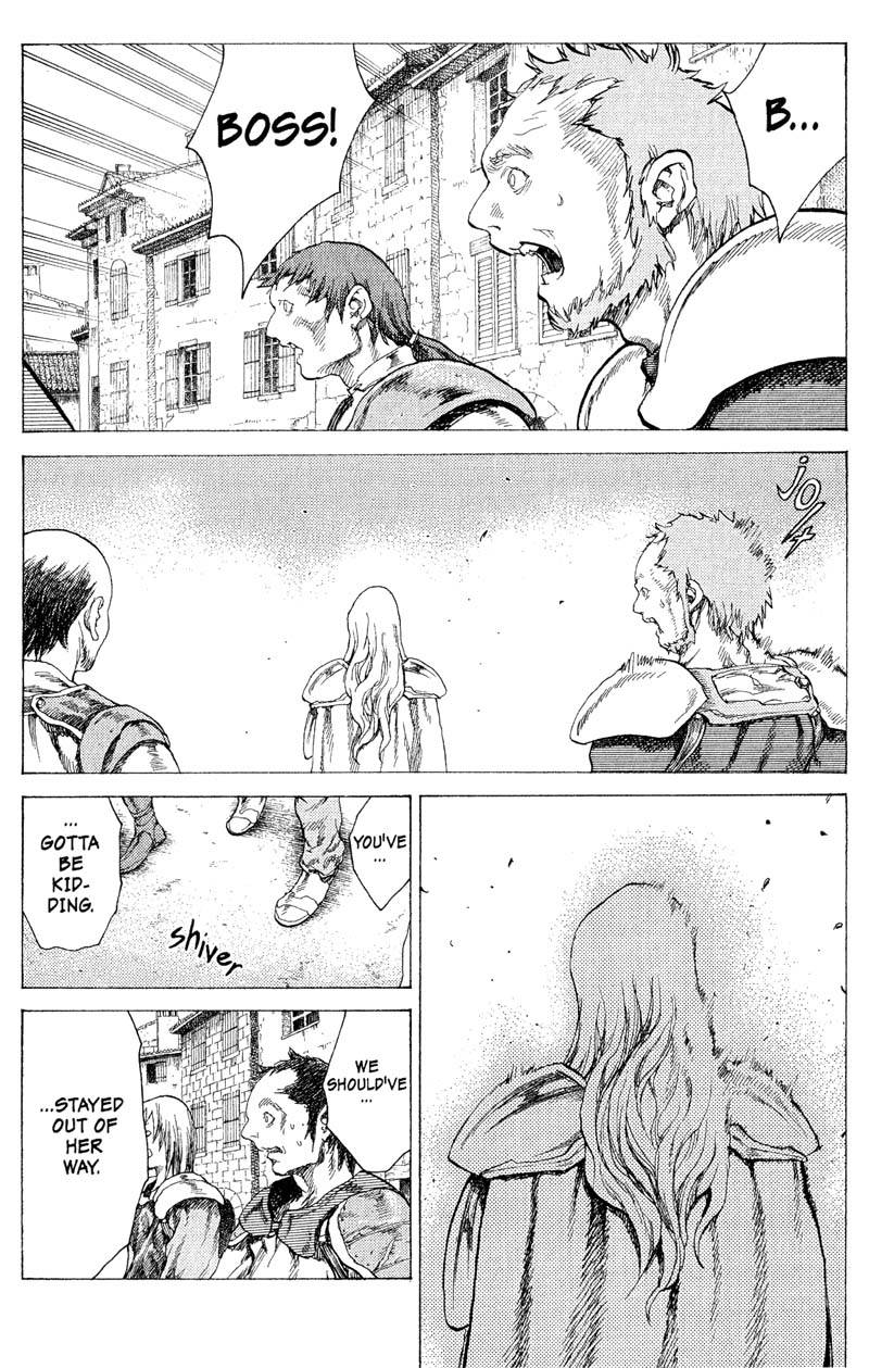 Claymore, Chapter 17, image #9