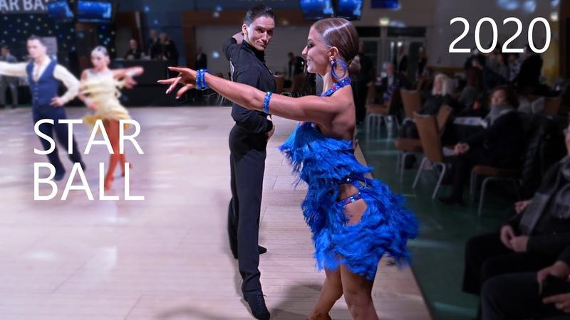 Tagir Mansurov Sasha Kondrashova USA Star Ball 2020 Amateur Latin QF Cha cha cha