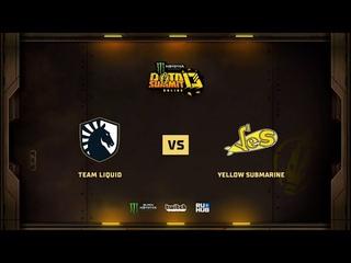 Team Liquid vs Yellow Submarine, Monster Energy DOTA Summit 13: EU/CIS, bo3 game 3 [Maelstorm & Jam]