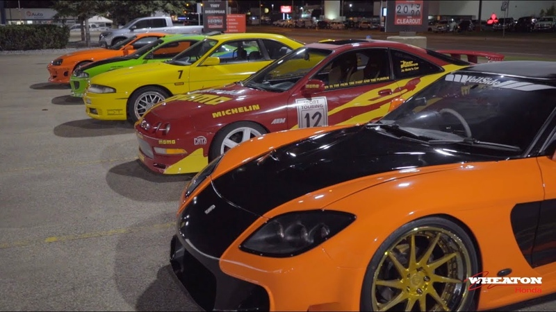 World's Biggest Fast and Furious Replica Car Collection Tuner Night