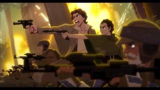 "Star Wars Anime Opening - The Rebel Alliance - ""Red Swan""   YOSHIKI (X JAPAN) feat. HYDE"