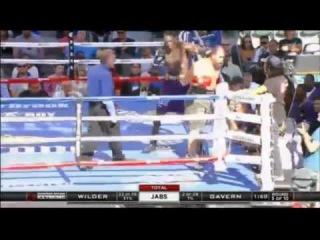 Deontay Wilder vs Jason Gavern KO TKO Full Fight Highlights KO 16/08/2014