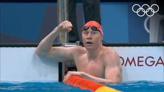 Спинисты Рылов и Колесников оформили медальный дубль на олимпийской стометровке