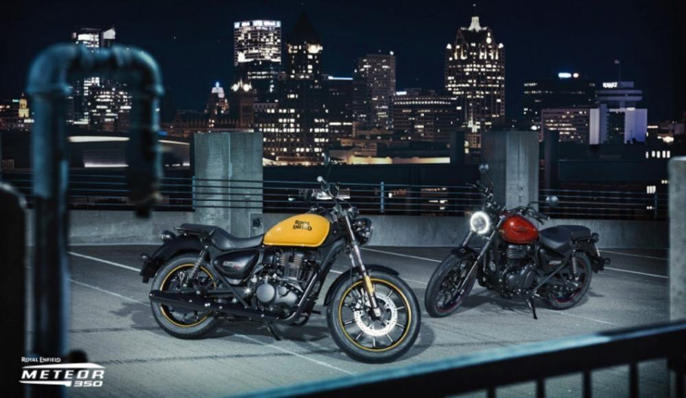 Новый мотоцикл Royal Enfield Meteor 350