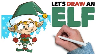Let's Draw an ELF: iPad & Procreate Tutorial & Free Holiday Brushes!