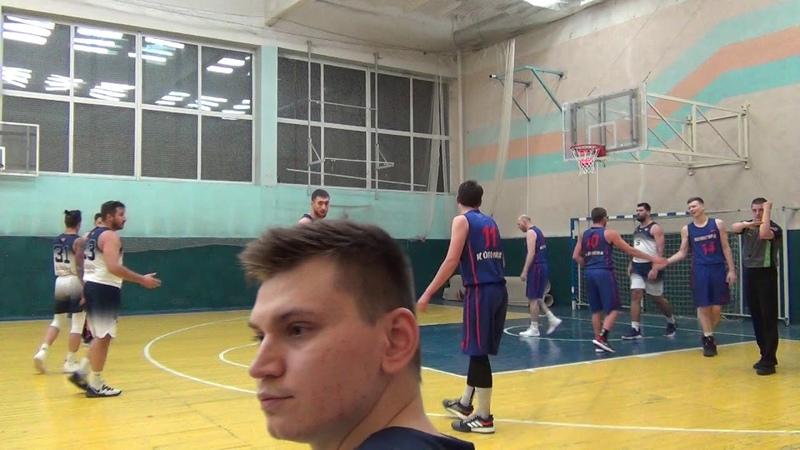 Глория Балашиха Авангард Коломна 88 67 6 тур МБСМО полный матч