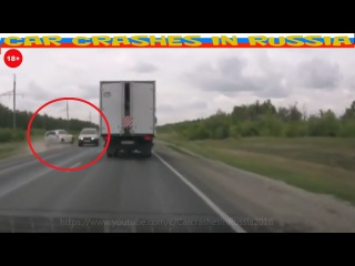 Stupid Driver  /Idiot driver doing a dangerous passing #1