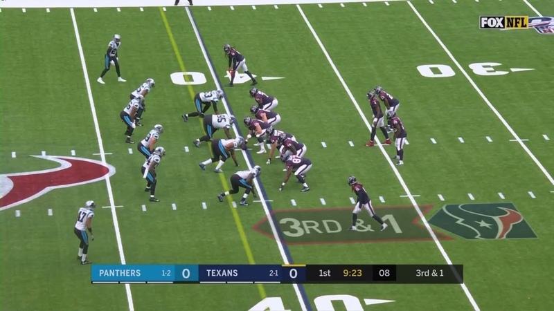 NFL 2019-20 Week 04 Carolina Panthers -- Houston Texans