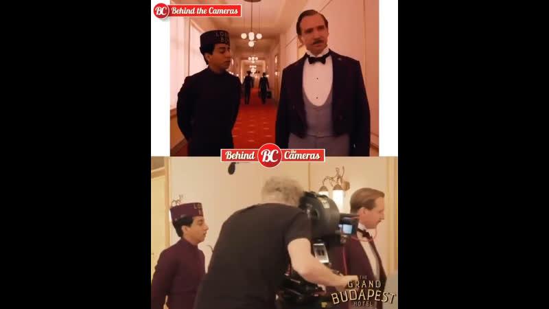 Съемки фильма Отель Гранд Будапешт