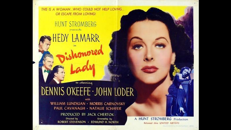 Mulher Caluniada 1947 com Hedy Lamarr filme completo e legendado em português