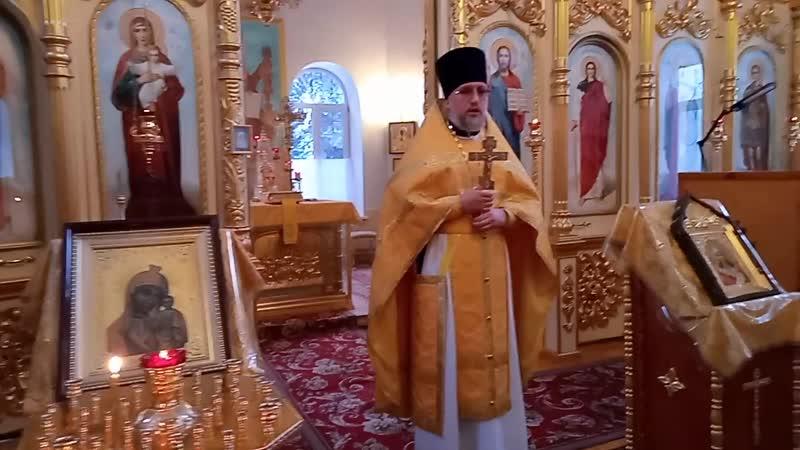 Память свт Иоанна Златоуста Проповедь прот Александра Кривцова Татианинский храм 26 11 2020