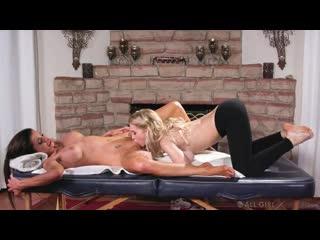 Alix Lynx and Silvia Saige - A Womans Physique - Porno, Lesbian, Porn, Порно
