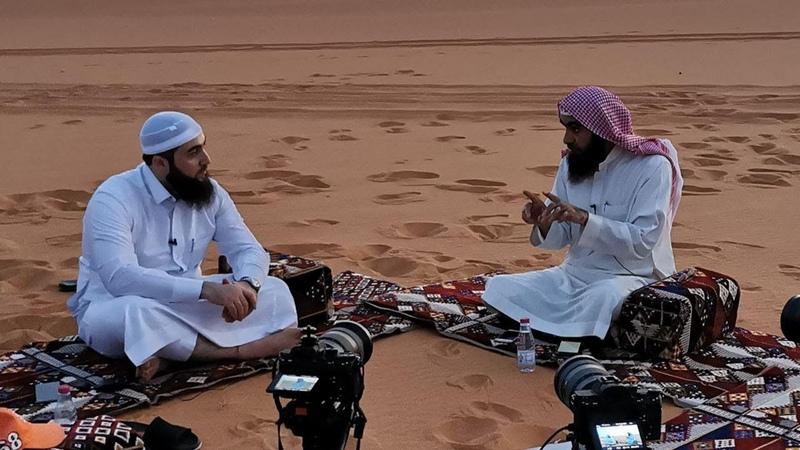 Прямой эфир в пустыне 55 вопросов Шейх Халид аль Фулейдж да хранит его Аллах