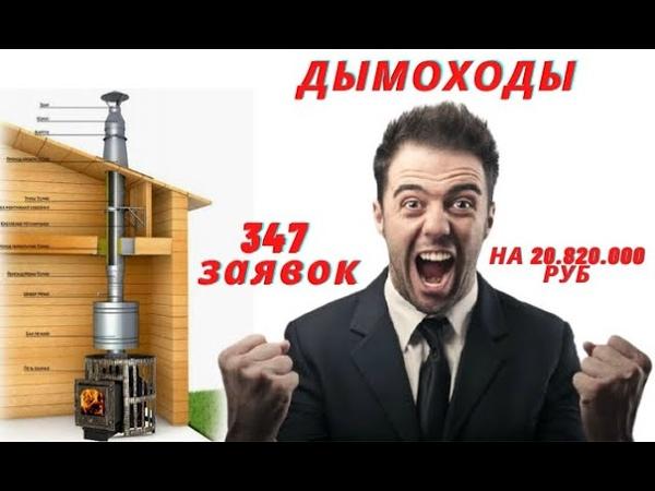 Кейс как получить 347 заявок на 20 820 000 рублей в сфере продажи ДЫМОХОДОВ