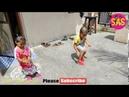 Kids Enjoying Bursting Crackers Crackers for Small Kids Crackers Bursting Videos