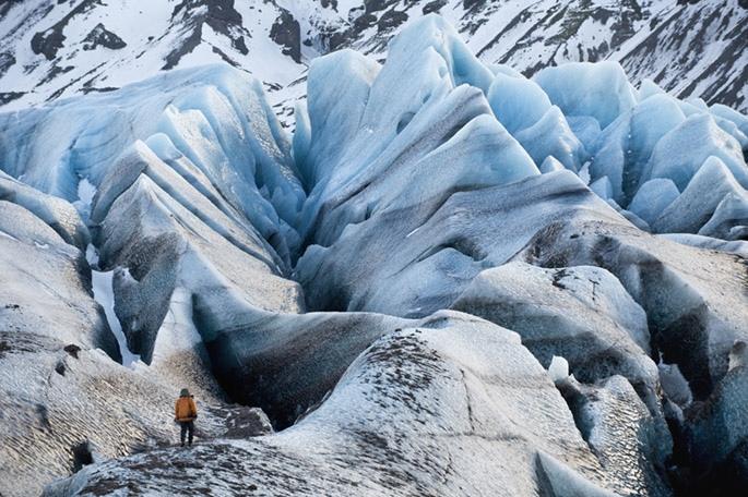 Свинафелльсьёкулл (Svinafellsjokull) – знаменитый исландский ледник, изображение №3