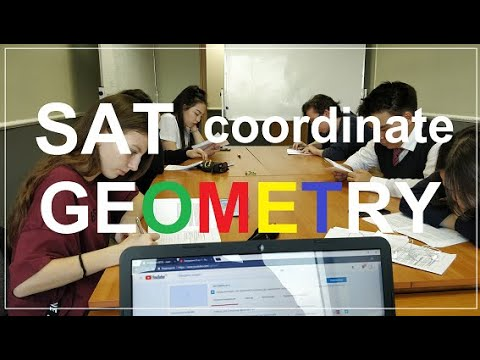 Coordinate Geometry for SAT NUFYPET GMAT GRE part 1