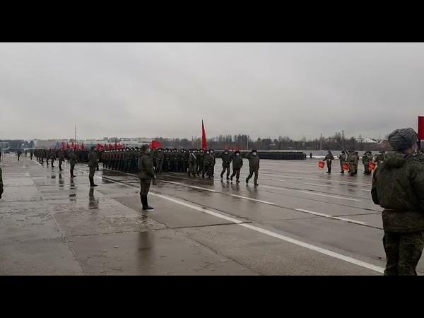 Донские казаки готовятся к параду на 9 мая