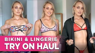 Bikini & Lingerie Try On Haul Video With Britt: Birthday Edition! (Facebook Live Replay)