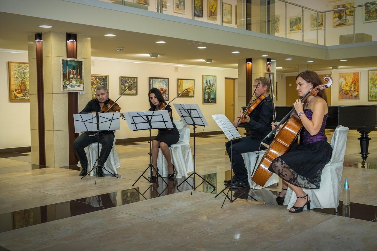 В ХМ «Арт-Донбасс» состоялось открытие VI сезона музыкального проекта «Посиделки на струнах»