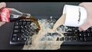Ремонт клавиатуры ноутбука после залития