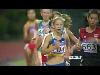 Singapore 2010 athletics women's 5000m walk final