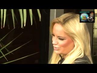 German Top Model Gina-Lisa Lohfink Visits Mickey Rourke in Beverly Hills