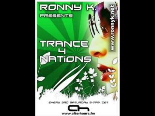 Ronny K. - trance4nations - Live from Luminosity all 70min on AH. FM (21-07-2012). [Trance-Epocha]