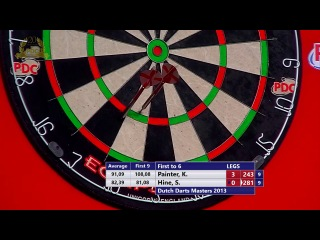 Kevin Painter vs Steve Hine (Dutch Darts Masters 2013 / First Round)