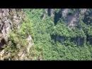 Лифт в горах Китая, где снимался фильм Аватар