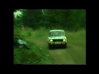 AZLK 1600 SL Rallye,1000 Lakes Rally 1985,В.Филимонов - М.Девель