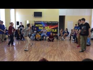 Женя и Вика vs Паша и Pumba (WIN) 1/4 FINALS Altai Dance Battle
