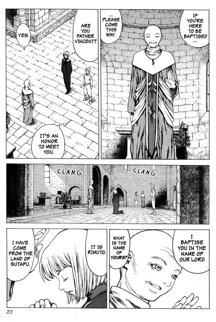 Claymore, Chapter 5, image #22