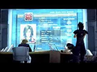 Crisis Core FF7 - Zack, Angeal, Lazard Scene