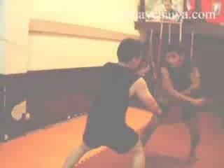 Thai Knife Fighting