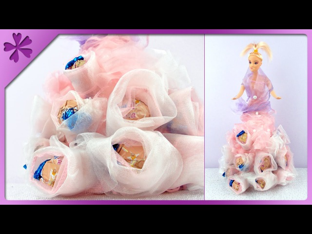DIY Candy doll, gift for birthday (ENG Subtitles) - Speed up 91