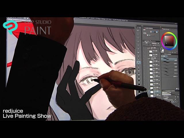 Redjuice Live Painting in MANSAI Digest